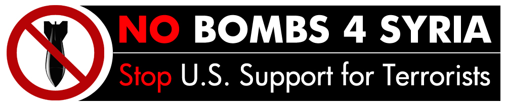 No Bombs 4 Syria